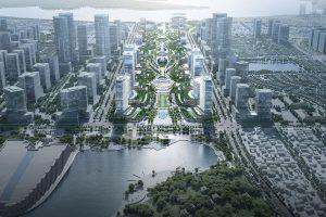 Bộ Xây dựng trao giải Cuộc thi tuyển ý tưởng quy hoạch, kiến trúc tổng thể Khu trụ sở làm việc các Bộ, ngành Trung ương tại khu vực Tây Hồ Tây