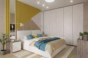 Tăng thẩm mỹ cho phòng ngủ nhờ vách gỗ ốp tường (P2)