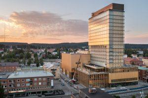 Trung tâm Sara Kulturhus – Toà chọc trời cácbon âm ở Thuỵ Điển